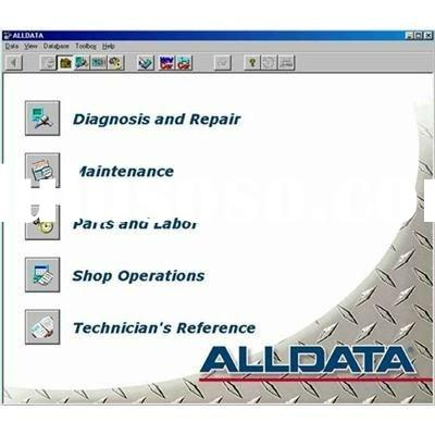 v10.40 latest version alldata auto repair software with tech suport