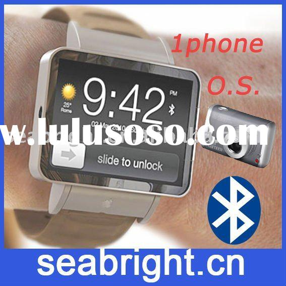 watch cell phone (A8 1phone system bluetooth and camera)