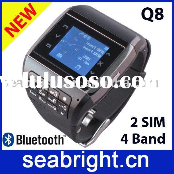watch mobile phone, watch mobile, watch phone Q8 (Dual SIM)