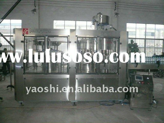 water filling machine, mineral water filling plant, water production line