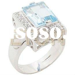 wholesale ornate fashion handcrafted fine jewelry with unique design: 925 Sterling Silver Ring (#R56