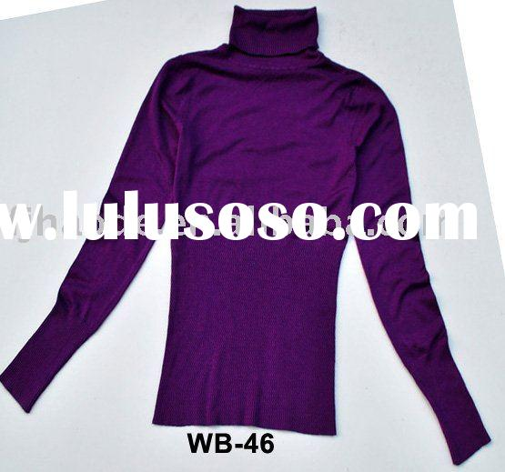women fashion tunic knit cotton blouses,ladies cotton voile blouse,cotton spandex blouse