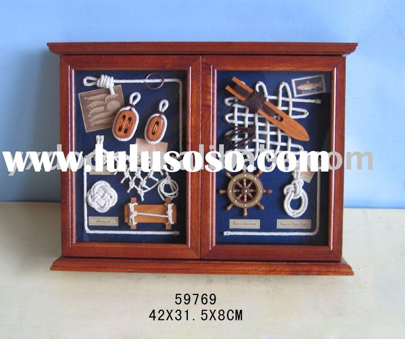 wooden key box (59769)home decor