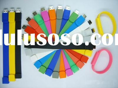 wristband usb flash disk,fashionable usb thumb drive,usb memory drive