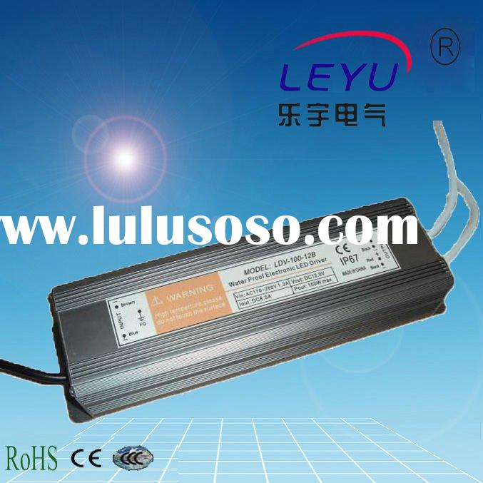 100W 12V 8.3A LED Waterproof Single Output Switching Power Supply LDV-100-12