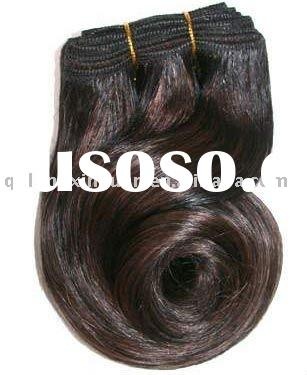 100% Indian remy human hair weft wholesale hair in factory
