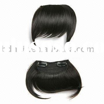 100 Human Hair Clip On Clip In Extensions Pro Fringe Bangs 2015 ...
