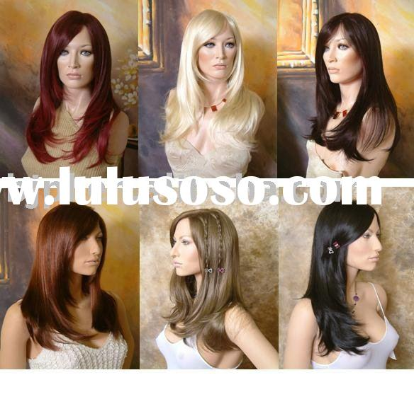 100% human hair of full lace wig