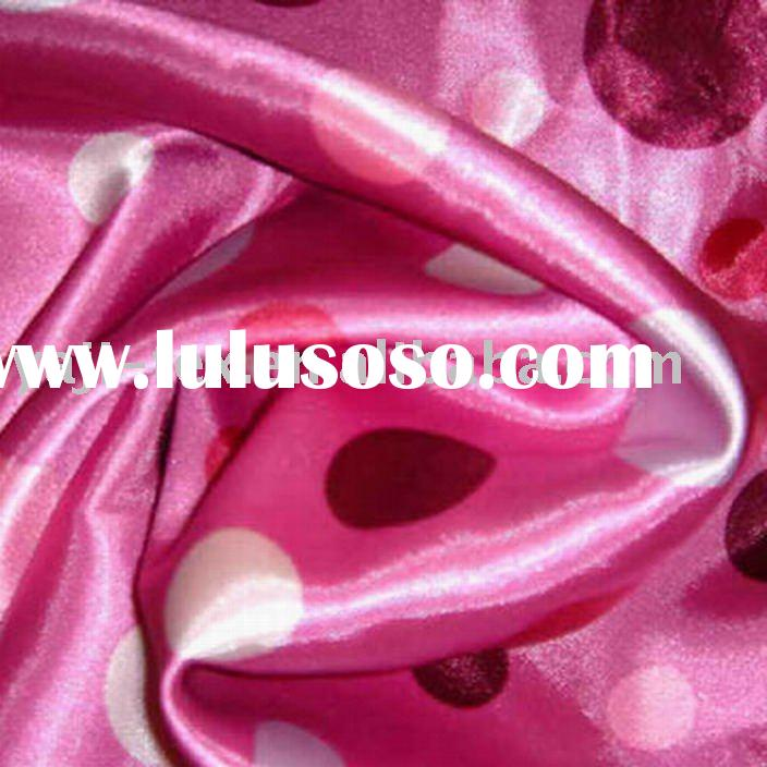 100% polyester satin /Transfer print fabric / Fashion fabric