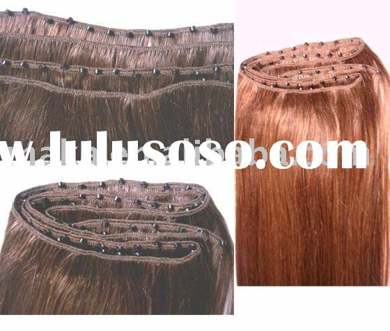 100% remy human hair ( EZ weft extension)