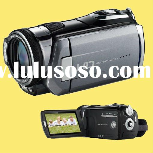 "1080P full HD 20MP Professional Digital Camcorder Video Camera with 12X Optical Zoom 3"" TFT tou"