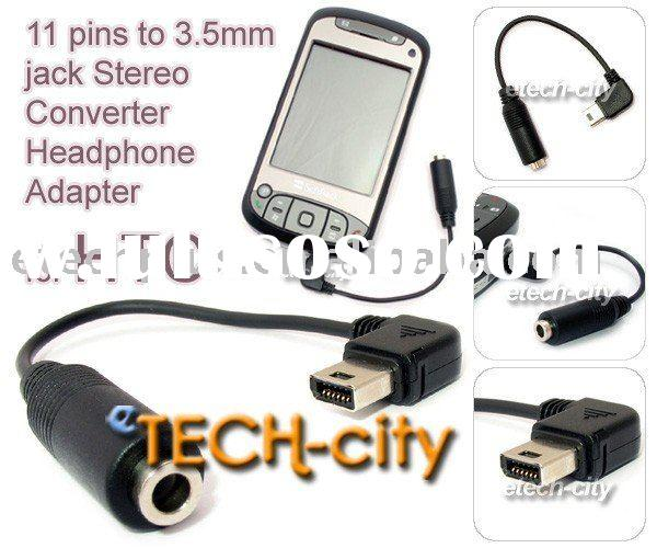11pin to 3.5mm jack headphone adapter for HTC Hero / Touch Diamond 2 / Touch Pro 2 / Google Magic G2