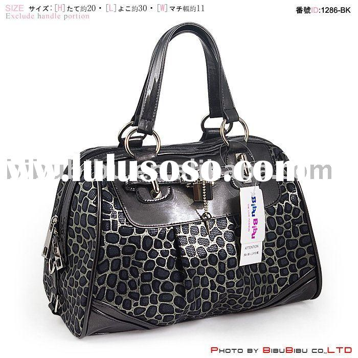 1286-BK Fashion Accessories Fashion Handbag 2011