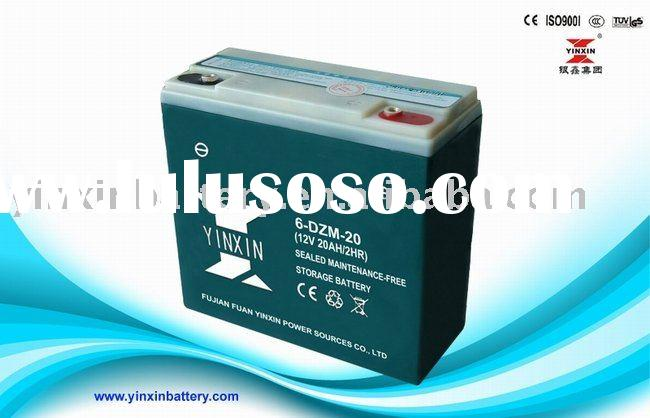 12V20AH electric bicycle battery / sealed lead acid battery / battery for electric bike /battery ele