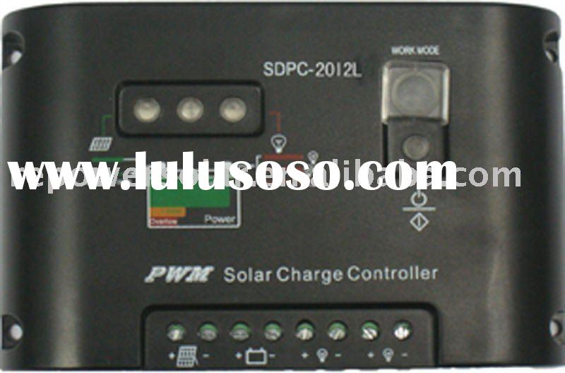 12V/24V automatic switching, 20A Waterproof solar charge controller,with digital led screen display,