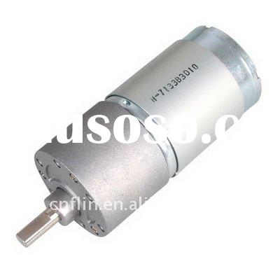 12V DC 2 RPM High Torque Mini Electric Gear Box Motor