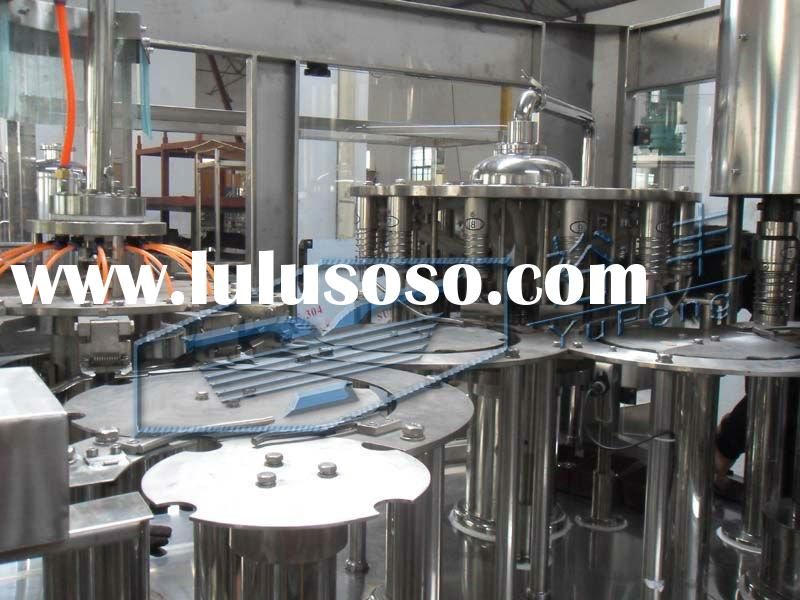 12 Heads PET bottle juice washing filling capping machine