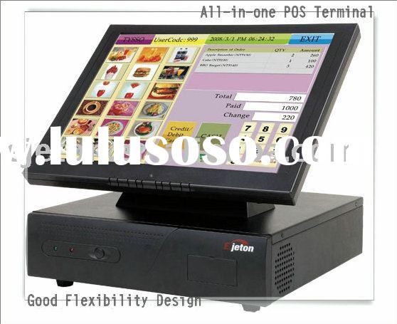 "15""touch pos system cash register"