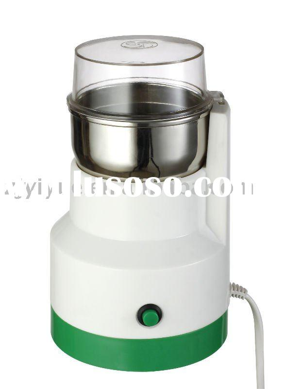 160W stainless steel blade & bowl coffee grinder, coffee mill with CE/GS/RoHS