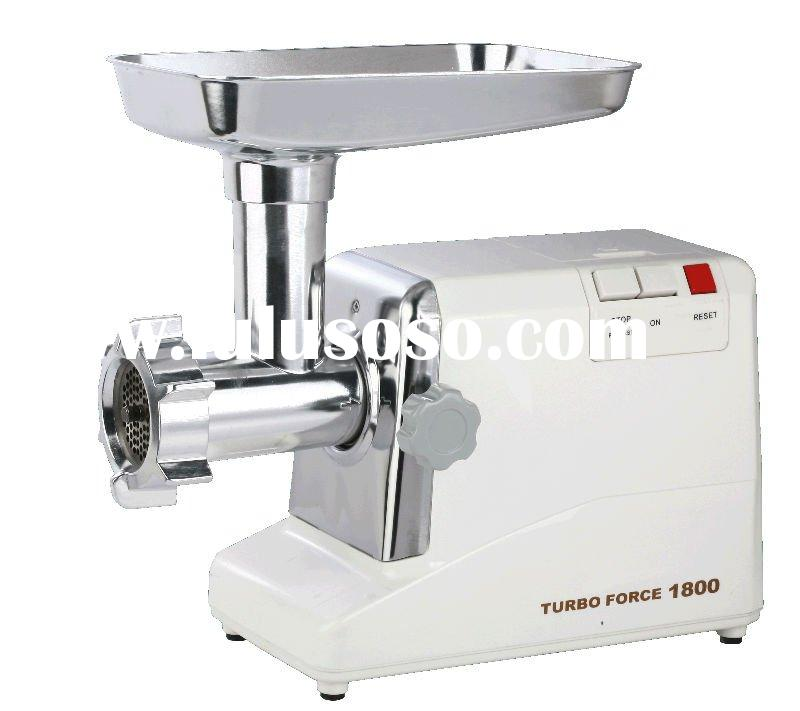 1800w electric meat grinder with sausage stuffer