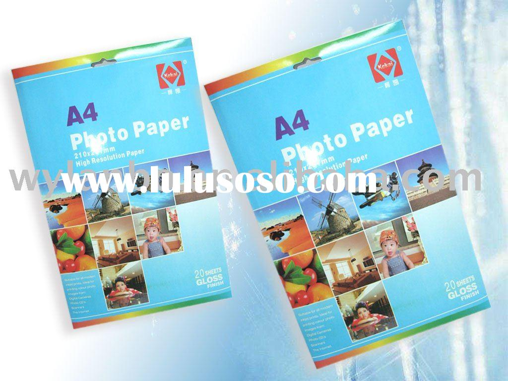 180gsm high glossy photo paper (A4* 20)