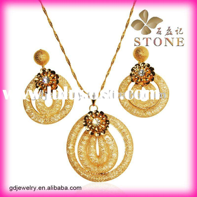 18 carat gold plated jewelry sets manufacturers