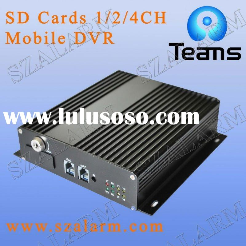 1/2/4CH SD Card Mobile DVR/Car dvr/bus dvr/vehicle dvr