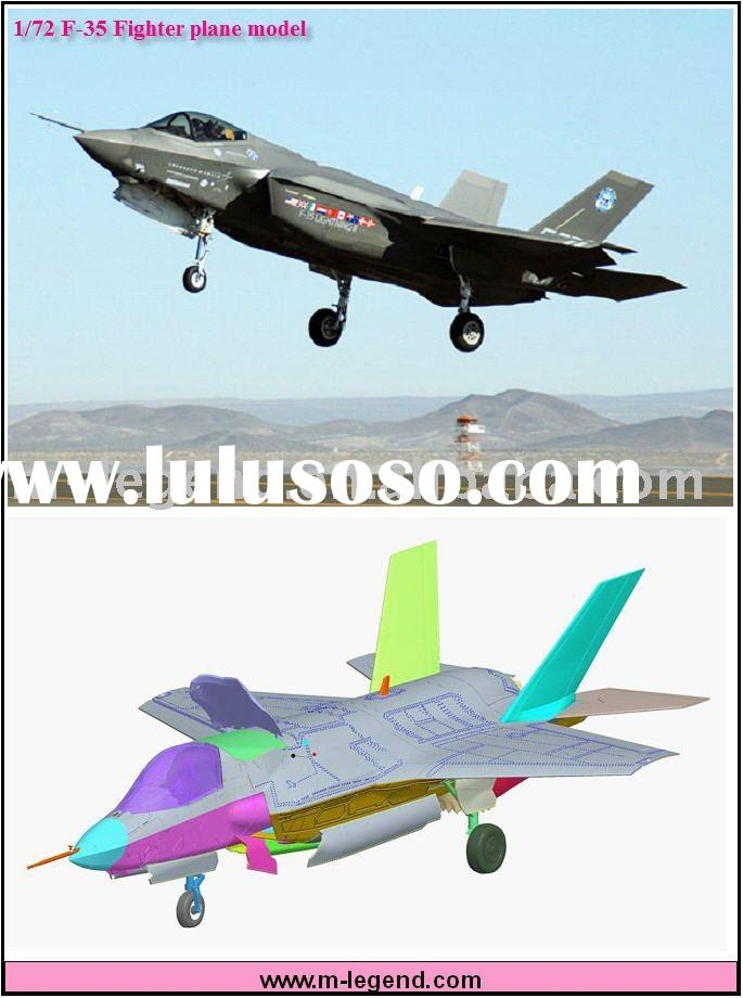 1/72 Scale plastic static model plane kits