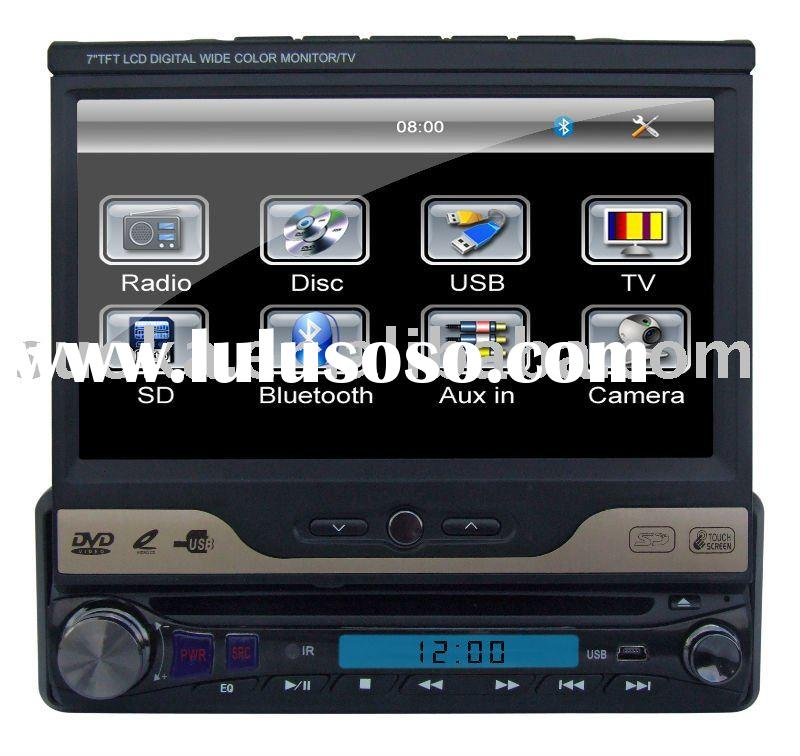 "1 din in-dash car audio -SK-730(with 7"" touch screen,DVD,TV,FM,AV,USB,SD,Bluetooth)"