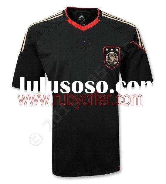 2010 Germany 13 away soccer jersey + short jerseys set Manufacturer supplier PAYAPL with Embroidered