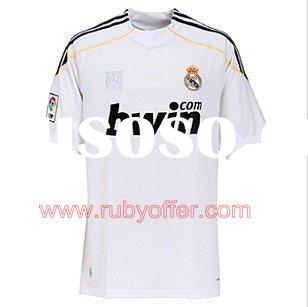 2010 Real Madrid football jersey