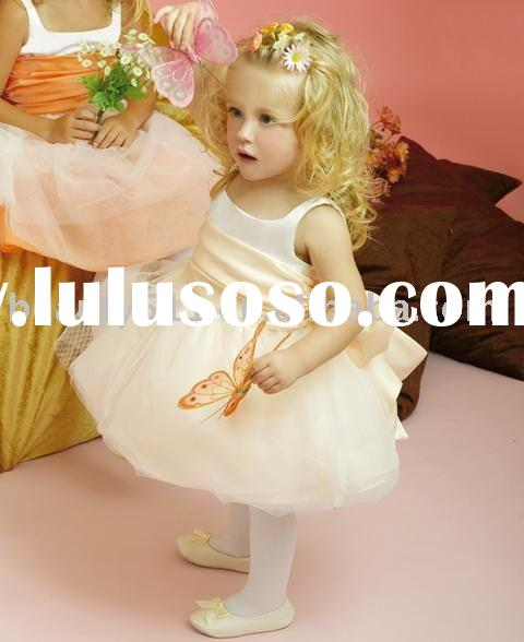 2010 cuttest lovely flower girl dresses baby dressesFDY-007
