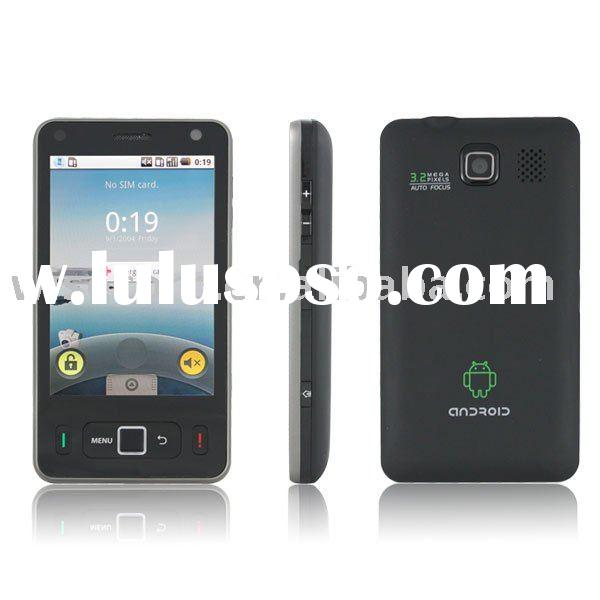 "2010 new arrival Android 1.6 mobile phone 3.6"" touch screen wifi phone W180 Single Sim card qua"
