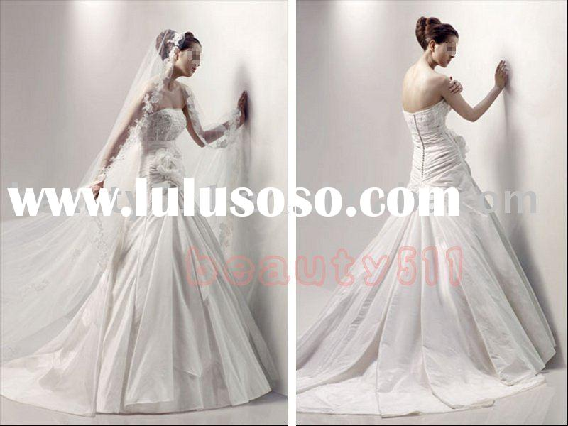 2010 new-style fashion collection wedding dress , evening dress