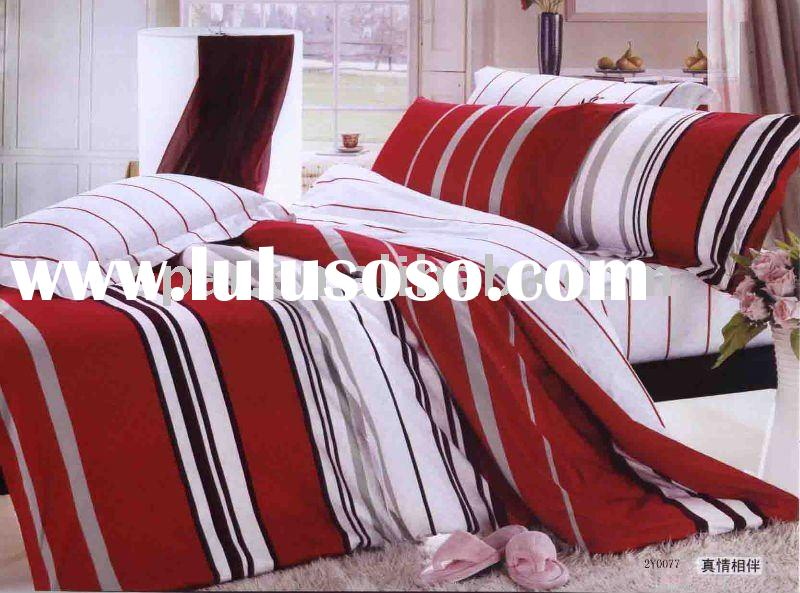 2011Newest design!100%cotton printed duvet cover set