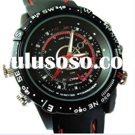 2011 4GB/8GB Waterproof Watch Mini DV DVR Camcorder Video Recorder Hidden Camera(accept paypal)