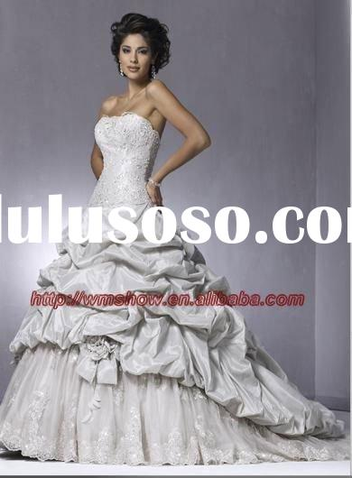 2011 Beautiful Fashionable Popular VIctorian Ball Gown Wedding Dresses