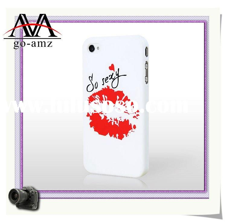 2011 DIY Water transfer printing case for iPhone 4 case