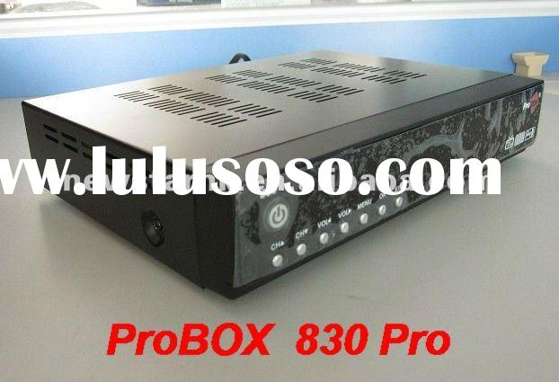 2011 Digital Satellite Receiver ProBox 830 Pro Decoder New Set top box for South America