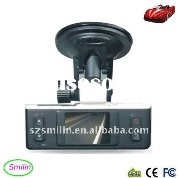 "2011 Full HD 1080P 1.5"" Car Video Recorder with GPS and G-sensor,speed shows on the video"