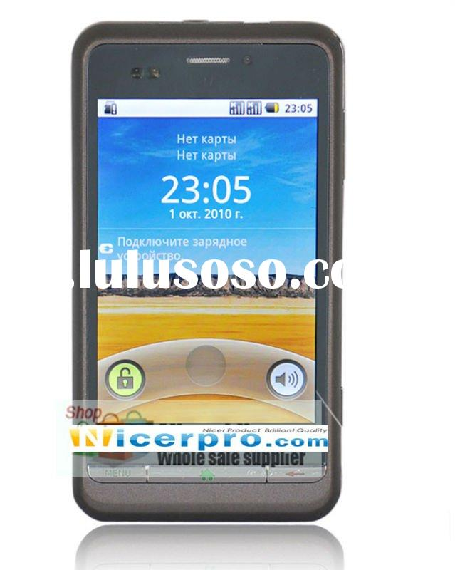 2011 Latest Quad band 3.5 capactive touch screen smart cell phone P800 with Android 2.2 Operate Syst