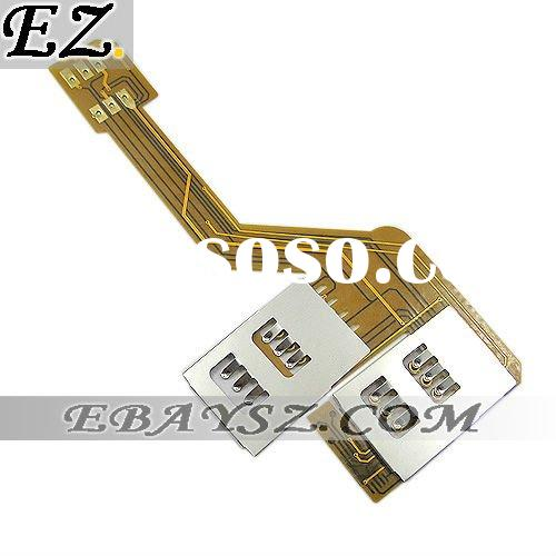 2011 New arrival 3 in 1 Three SIM Card for iPhone 4 4G &IP-602