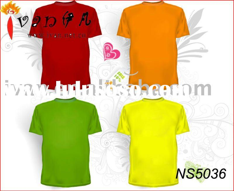 2011 Newest Design Fashion 50 Cotton 50 Polyester T shirts