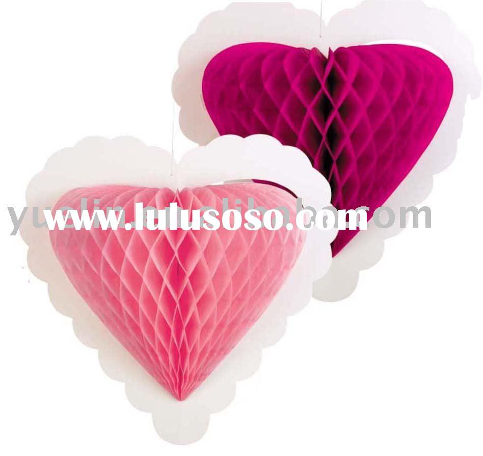 2011 Wedding Decoration High Centerpieces Heart Shape Decoration Hanging