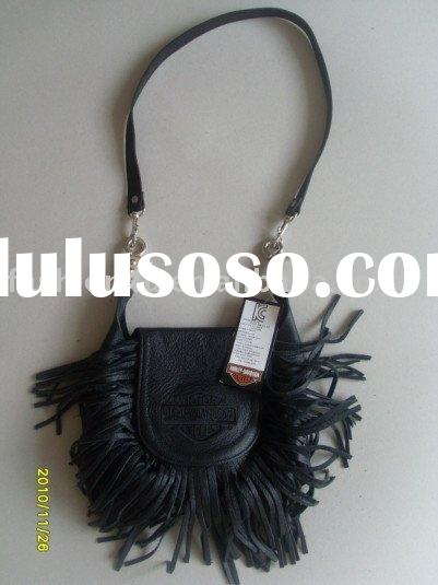 2011 Wholesale Fashion Leather Fringe Purse Hip Clip Pouch Bags