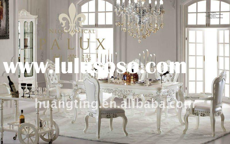 White Wood Dining Room Furniture