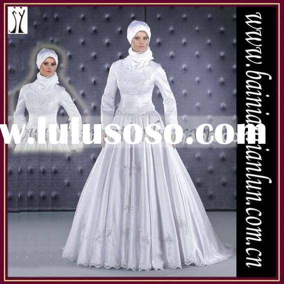 2011 collection muslim wedding dress
