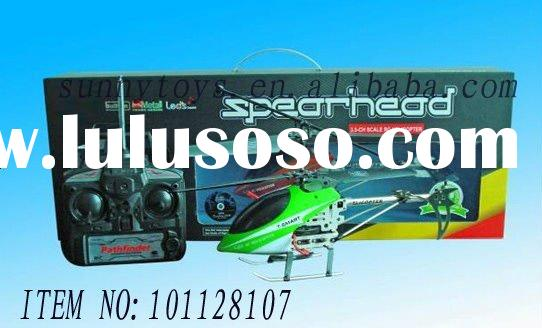 2011 hot sale 3.5 channel metal helicopter radio control