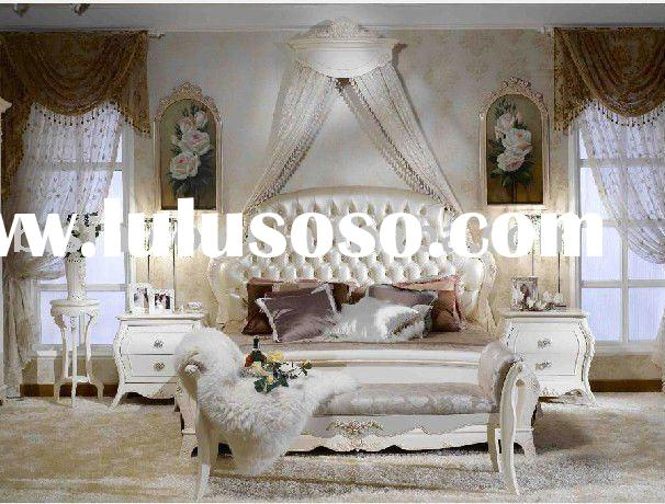 2011 hot sale antique French country style sleeping room furniture set B49163