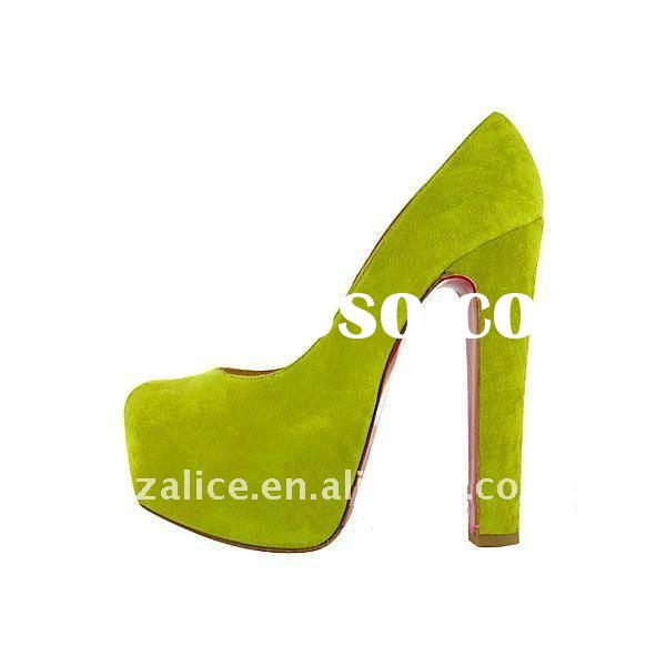 2011 hot selling very beautiful high-heel dress shoes,suede leather dress fashion shoes,Light blue